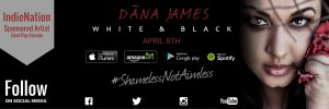 Dana James White & Black EP Release